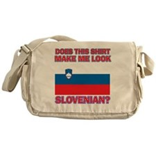 Slovenian flag designs Messenger Bag