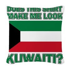 Kuwaiti designs Woven Throw Pillow