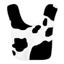 Cow Print Bib