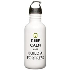 Keep Calm and Build A  Water Bottle