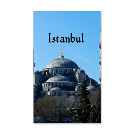 Istanbul_5.5x8.5_Journal_BlueMosq 20x12 Wall Decal