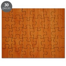 Cherry Wood Grain Puzzle