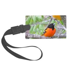 Northern Oriole Luggage Tag