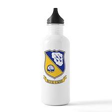 Blue Ukes Water Bottle