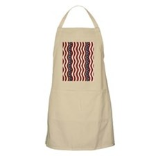 Wavy Patriotic Stripes Pattern Apron