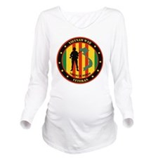 Vietnam War Veteran  Long Sleeve Maternity T-Shirt