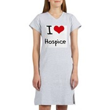 I Love Hospice Women's Nightshirt