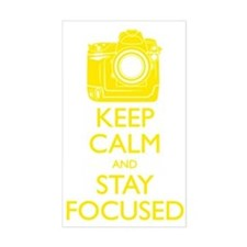 Keep Calm and Stay Focused (Ye Decal