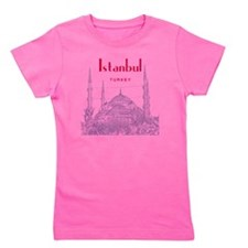 Istanbul_10x10_BlueMosque_Red Girl's Tee