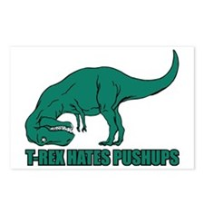 Hilarious T-rex Postcards (Package of 8)