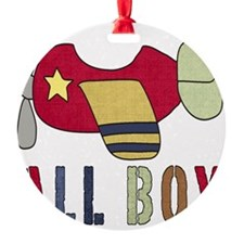 All Boy (2) Airplane Ornament