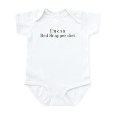 Red Snapper diet Infant Bodysuit