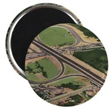 Lincoln Tunnel, New Jersey Turnpike Vintage Magnet