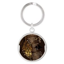 Ancestors - Womens All Over Print T Round Keychain