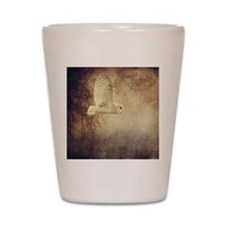 Barn Owl Shot Glass