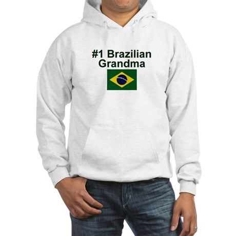 Brazil #1 Grandma Hooded Sweatshirt