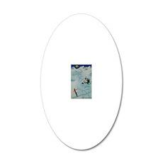 Vintage Arosa Switzerland Tr 20x12 Oval Wall Decal