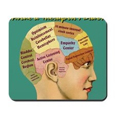 Inside a Therapists Brain Mousepad