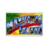 Mackinac Island Michigan Rectangle Magnet
