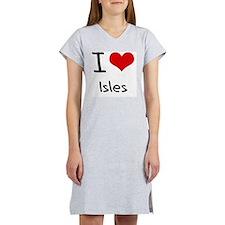 I Love Isles Women's Nightshirt
