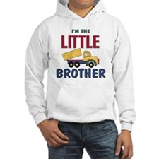 Little Brother Dump Truck Hoodie Sweatshirt