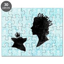 Queen and Corgi Puzzle