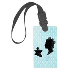 Queen and Corgi Luggage Tag