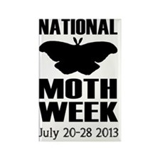 National Moth Week 2013 Rectangle Magnet