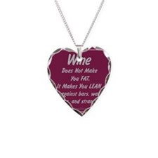 Wine Lean Necklace