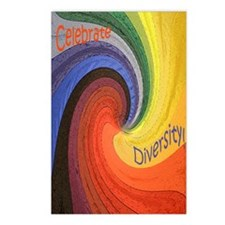 Celebrate Diversity case Postcards (Package of 8)