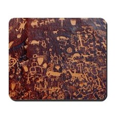 Newspaper Rock Wide FINAL Mousepad