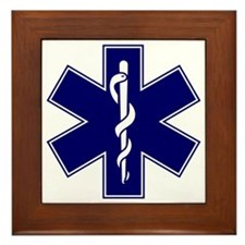 EMT logo Framed Tile