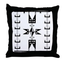 Dakota Sioux Motif Throw Pillow