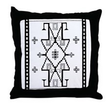 Dakota Souix-1 Motif  Throw Pillow