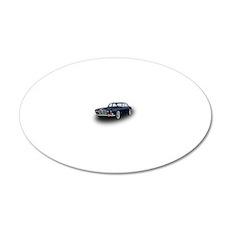 Jaguar XJ6 20x12 Oval Wall Decal
