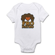 Fro Patro with Heart Infant Bodysuit