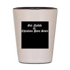 Christian Porn Store Shot Glass