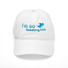 Twitter humor Baseball Cap