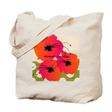 Retirement Nap pillow Fuschia Flowers Tote Bag