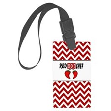 Red Hot Chef Luggage Tag