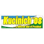 Kucinich a Different President Bumper Sticker