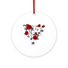 Rose Round Ornament
