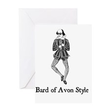 Bard of Avon Style Greeting Card
