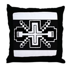 Seminole Motif Throw Pillow