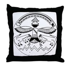 Zuni Motif Throw Pillow