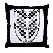 Arapaho Motif Throw Pillow