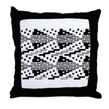 Choctaw Motif Throw Pillow