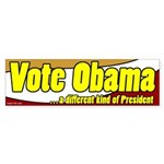 Vote Obama Bumper Sticker