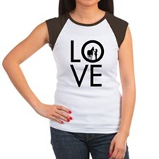 LOVE - Halter  Showmans Tee