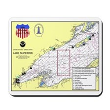 Isle Royale Lighthouse Tour Mousepad